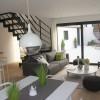 une pièce à vivre agréable dans cette location meublée située au coeur de villeneuve d'ascq, proche de Lille